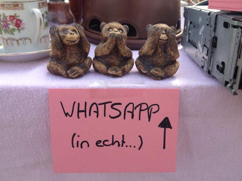 WhatsApp in echt