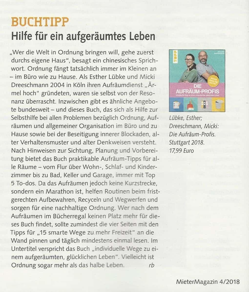 Mieter Magazin Berlin: April 2018